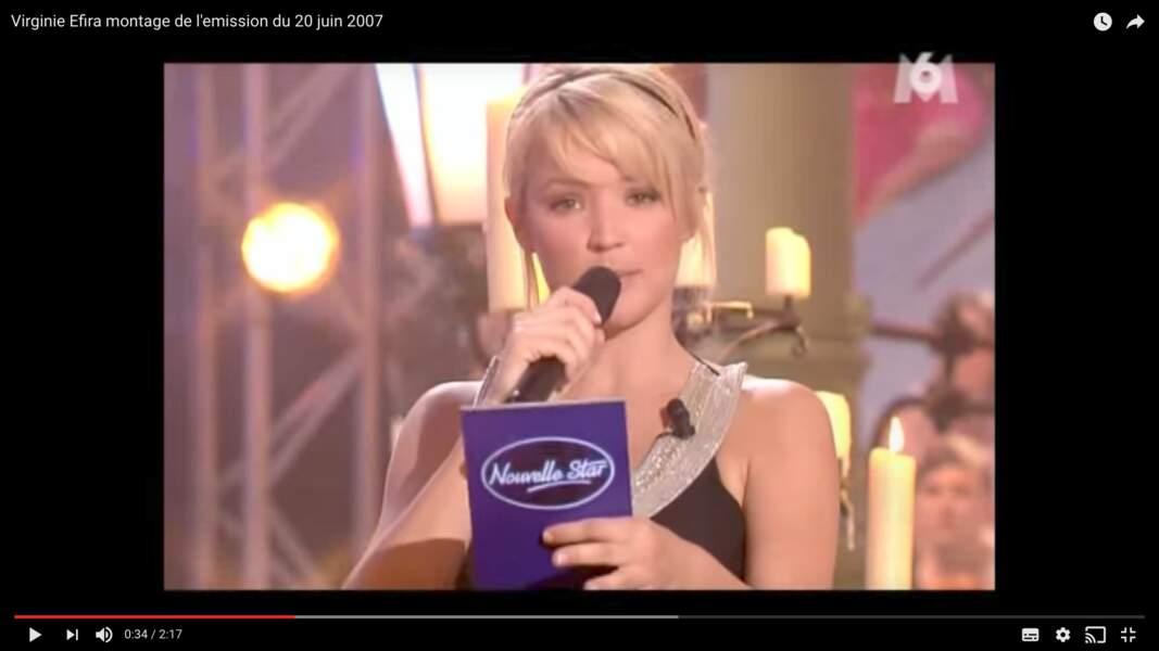 Mais elle se fait vraiment connaître par le public français en présentant la saison 2006-2007 de la Nouvelle Star.