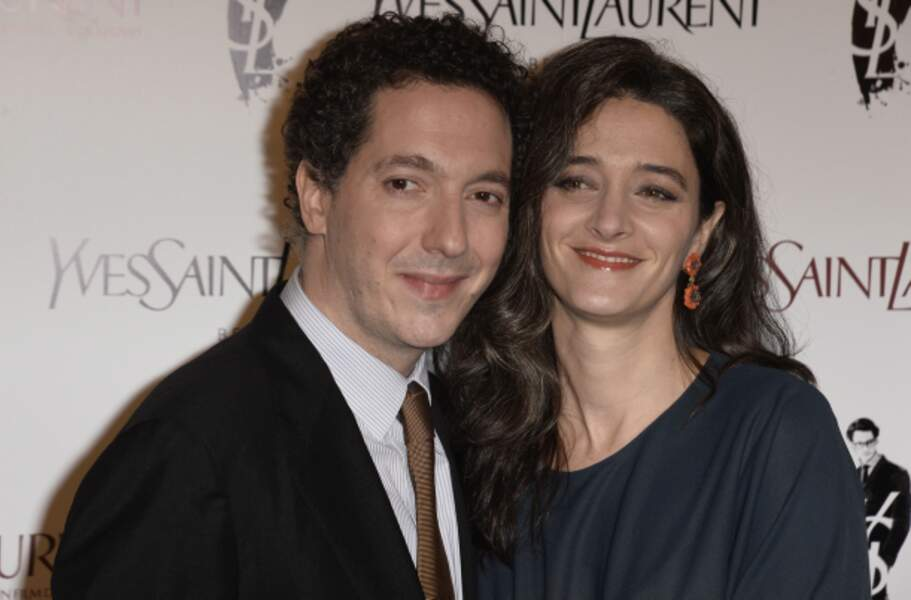 Guillaume Gallienne et sa femme Amandine