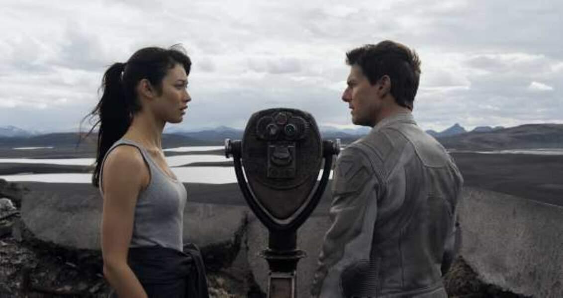 Oblivion, avec Olga Kurylenko (2013)