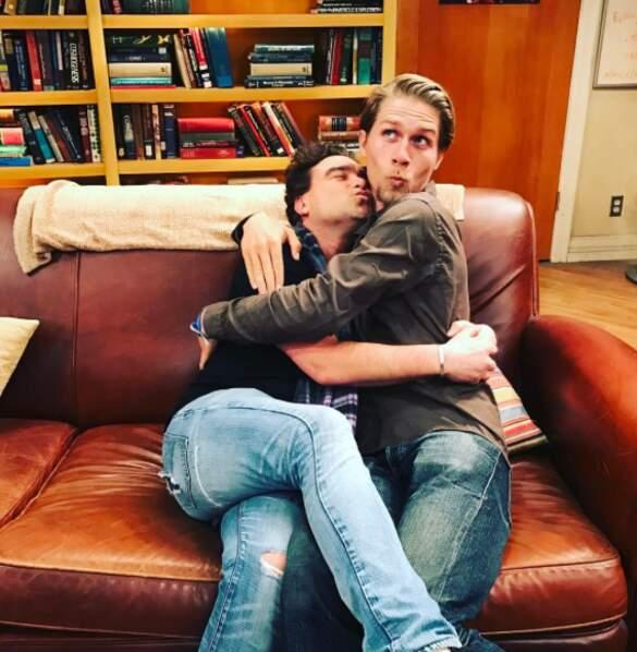 Il y a de l'amour sur le tournage de Big Bang Theory