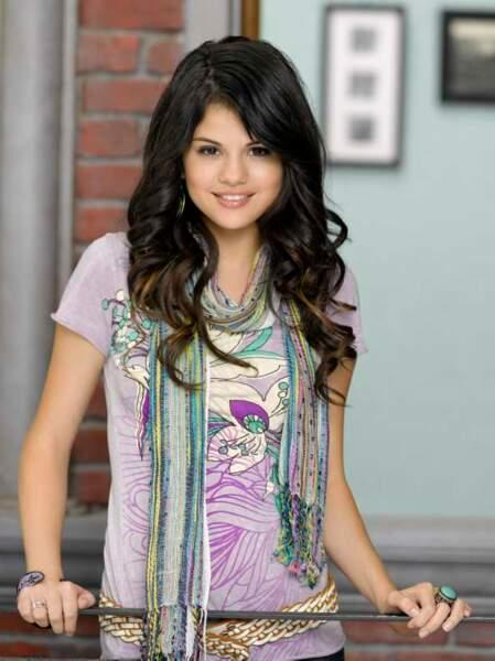 Selena Gomez, petite fille sage dans Les Sorciers de Waverly Place (2007-2010)