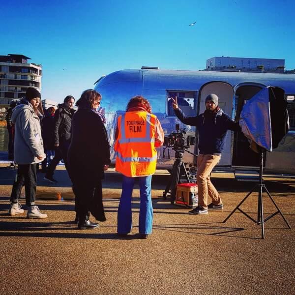 Moise Santamaria s'éclate sur le tournage d'Un si grand soleil