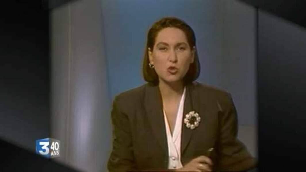 Evelyne Thomas a fait ses premiers pas à la télé sur France3 Nord-Pas-de-Calais