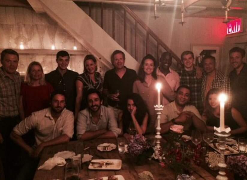 Blacklist : un dîner aux chandelles pour fêter la reprise du tournage