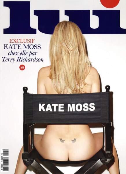 La brindille Kate Moss côté pile ? De quoi avoir envie de découvrir son côté face.
