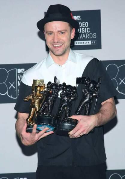 Justin Timberlake, le grand gagnant de la soirée