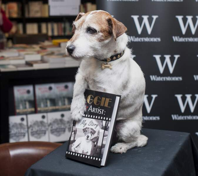 Uggie a même écrit un livre !