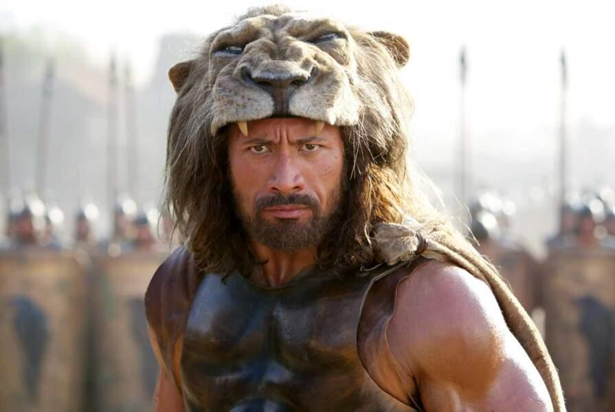 Changement d'époque, direction l'Antiquité. L'acteur incarne le héros Hercule. Grrrrr !