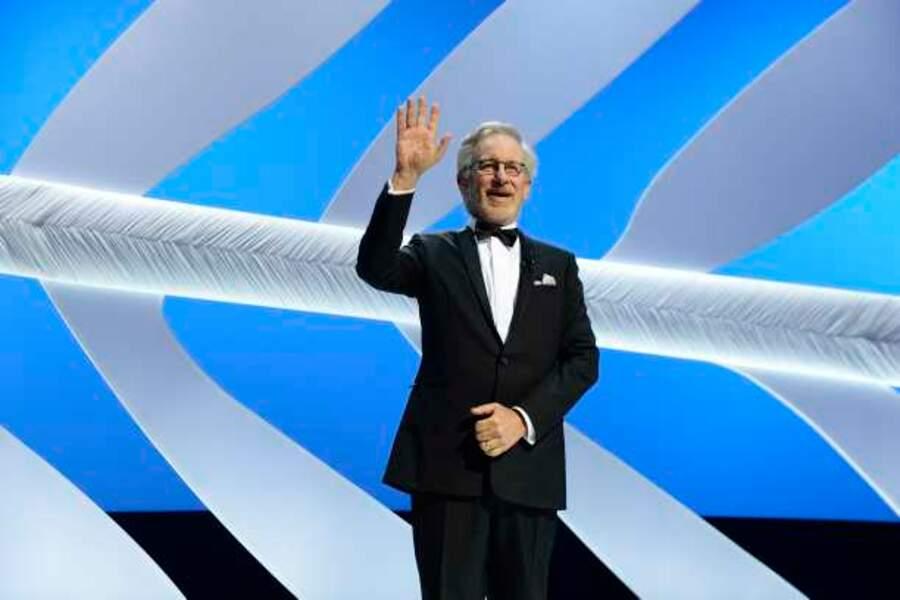 Standing ovation pour Steven Spielberg à Cannes