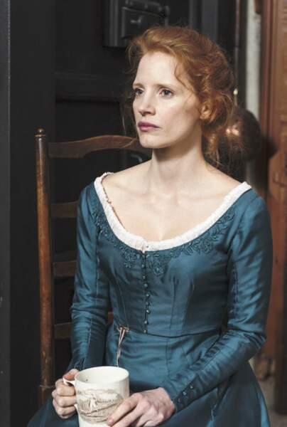 Amoureuse du valet de son père dans Mademoiselle Julie (2014)