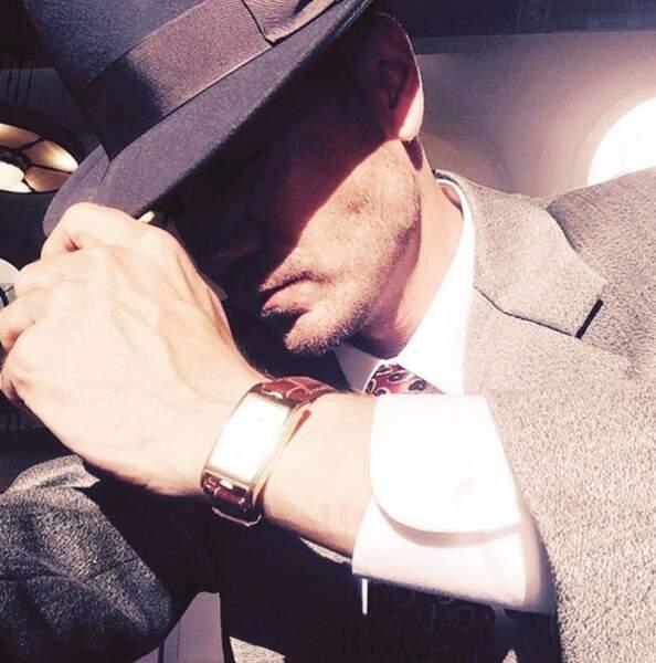 Chad Michael Murray a retrouvé son costume vintage pour Agent Carter
