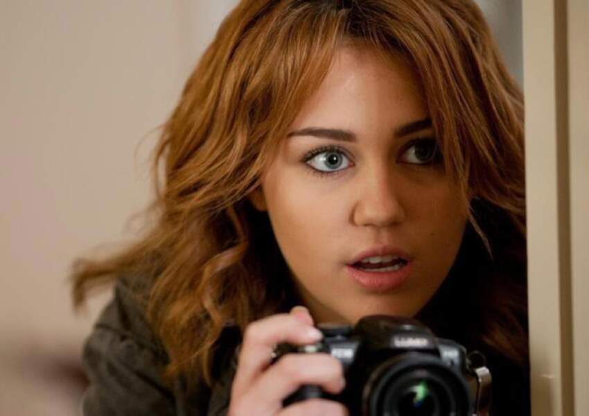 Mile Cyrus dans Mademoiselle Détective encore en 2011.