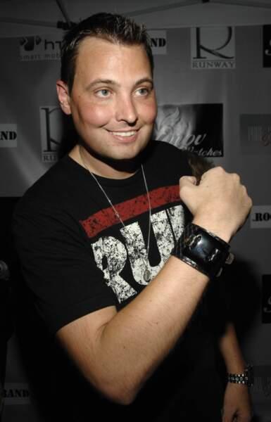 Rich Cronin en 2007. Le chanteur a succombé à une leucémie en 2010.