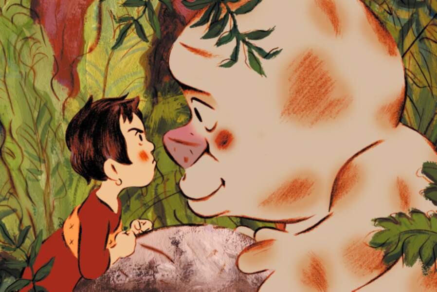 Avec sa voix drolissime, Dany Boon s'amuse dans le doublage : il campe la grosse bête dans Mia et le Migou (2008)