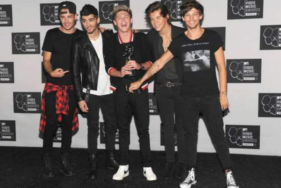 Les One Direction vainqueurs de la chanson de l'été