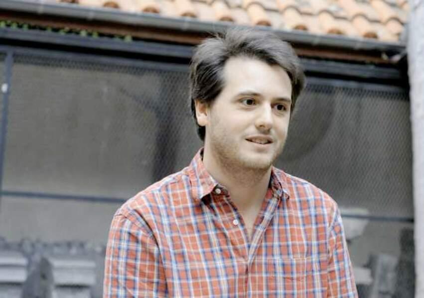"""Tristan Garcia, """"écrivain de l'année"""""""