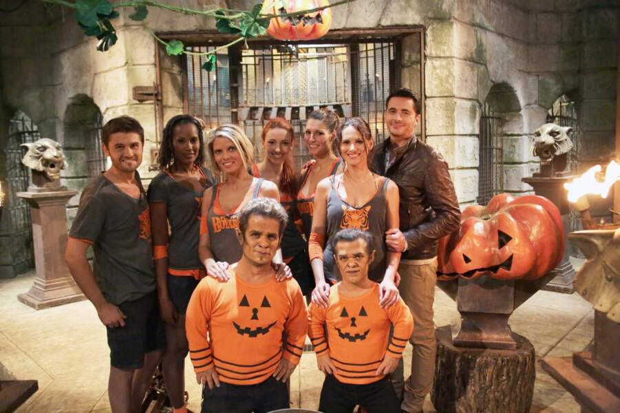 Les cinq Miss France et Christophe Beaugrand dans ce Fort Boyard Spécial Halloween