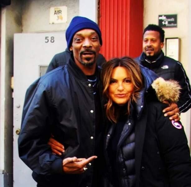 Dans un prochain épisode de New York, Unité Spéciale, Mariska Hargitay accueillera le rappeur Snoop Dogg