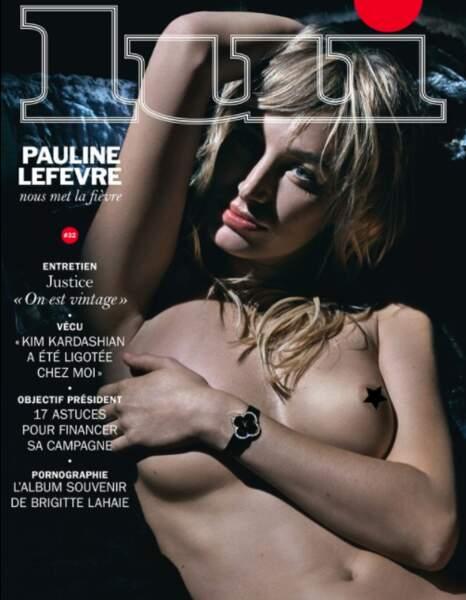 Une ancienne miss météo qui fait le show : Pauline Lefèvre.