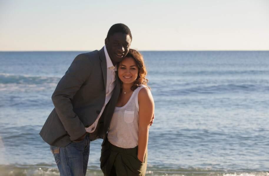 Ibrahim Koma et Delfine Rouffignac