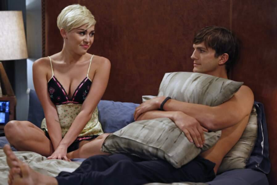En septembre 2012, elle fait une apparition dans la série Mon oncle Charlie, aux côtés d'Ashton Kutcher.