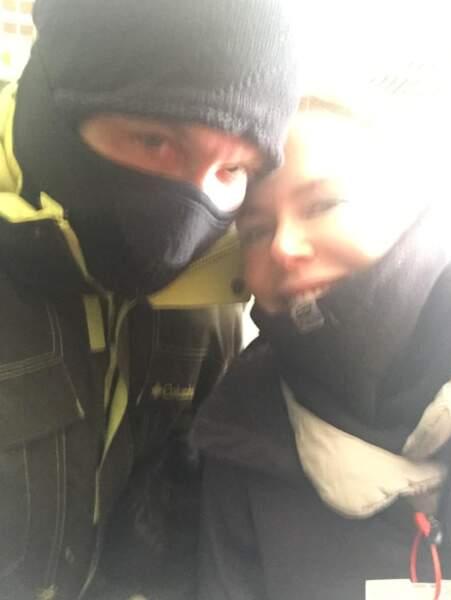 Nicole Kidman et son mari Keith Urban, parés pour affronter le froid canadien