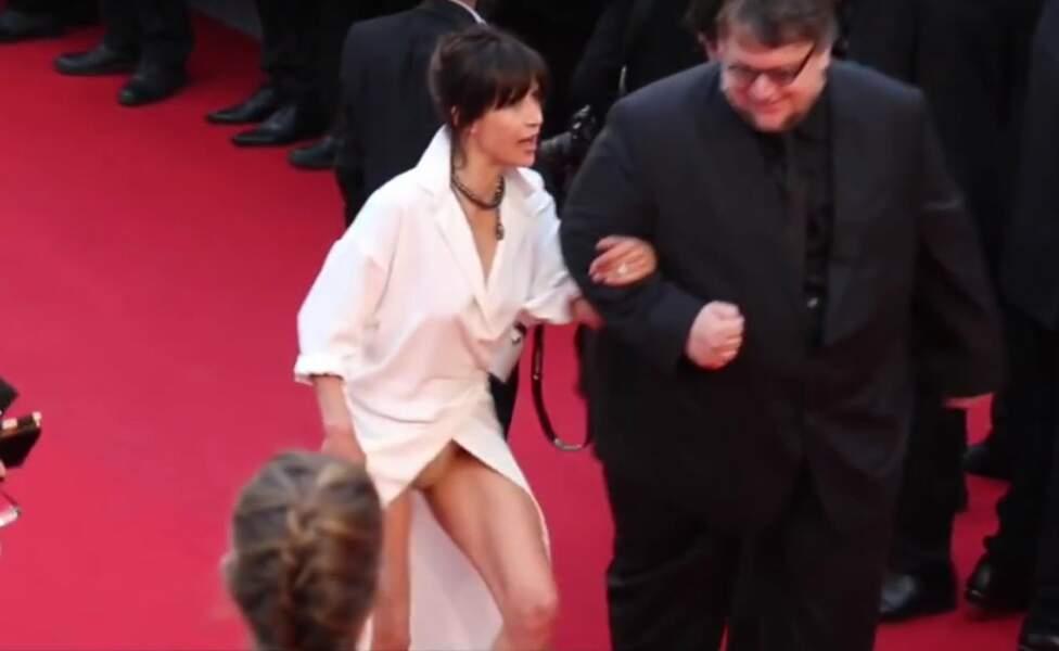 Nouvel accident de lingerie en 2015, où elle est jurée du 68è Festival de Cannes... le ferait-elle exprès ?