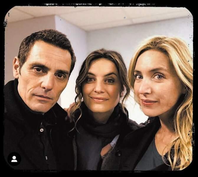Dans la série de TF1 Olivia, Laetitia Milot sera notamment accompagnée de Cyril Lecomte et Cyrielle Debreuil