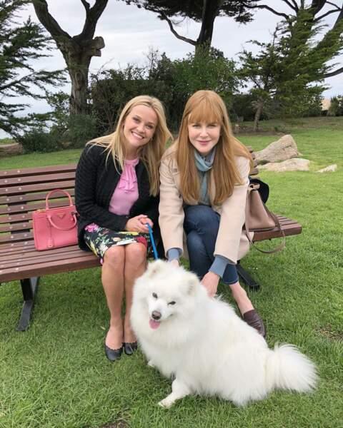 On adore cette photo de Reese Witherspoon et Nicole Kidman, sur la saison 2 de Big Little Lies