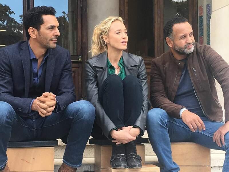 Sur le plateau de Balthazar, les comédiens regardent toujours dans la même direction !