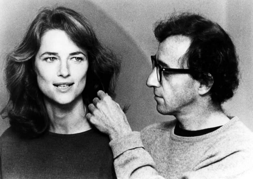 La sublime Charlotte Rampling subjugue littéralement le cinéaste dans Stardust Memories (1980)
