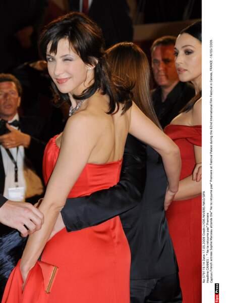 A l'avant-première de Ne te retourne pas à Cannes en 2009