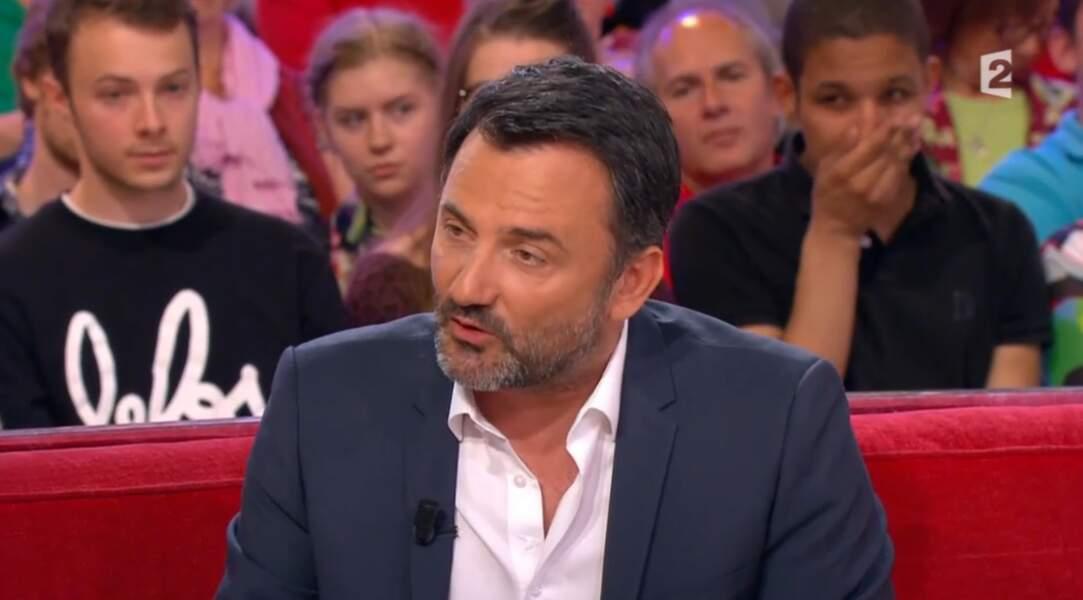 Frédéric Lopez est producteur et animateur sur France 2.