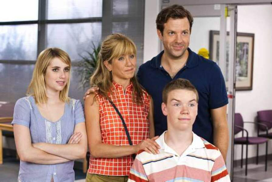 Les Miller, une famille en herbe (2013) : avec Emma Roberts, Jason Sudeikis, Will Poulter