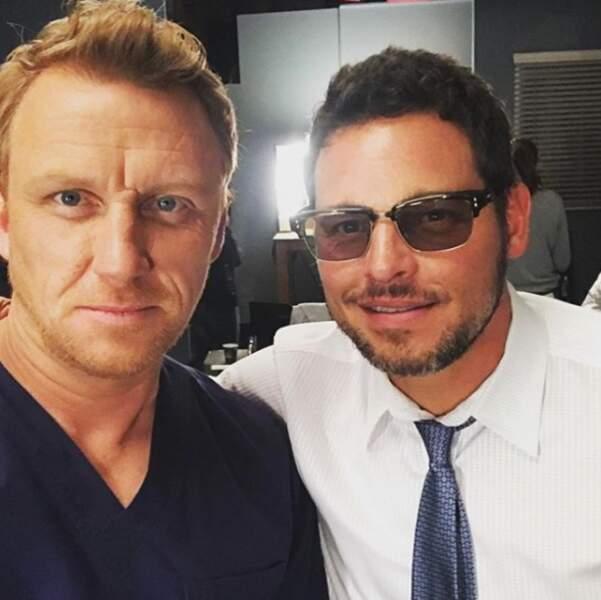 Owen (Kevin McKidd) et Alex (Justin Chambers) prêts à passer au bloc ?