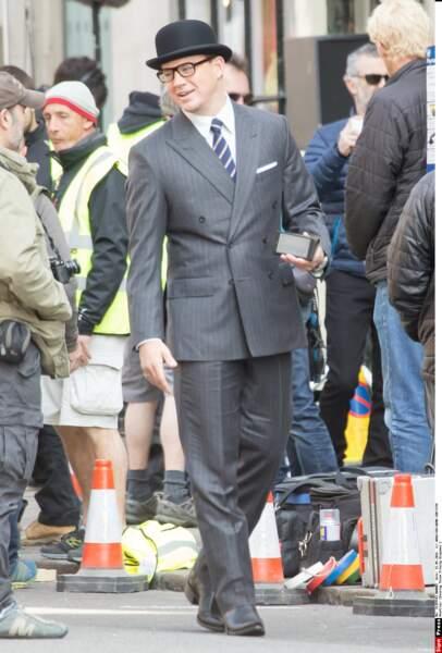 Channing Tatum, à Londres en mai 2016, sur le tournage de la suite de Kingsman : service secret