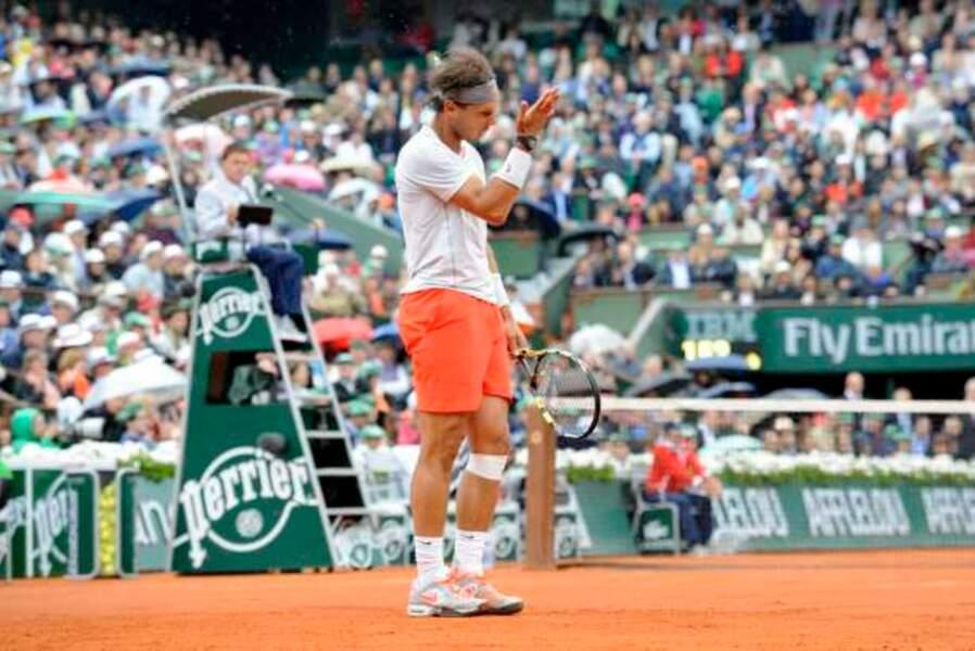 Rafael Nadal n'a presque pas tout réussi