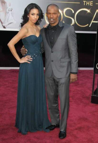 Jamie Foxx et sa fille Corinne Bishop