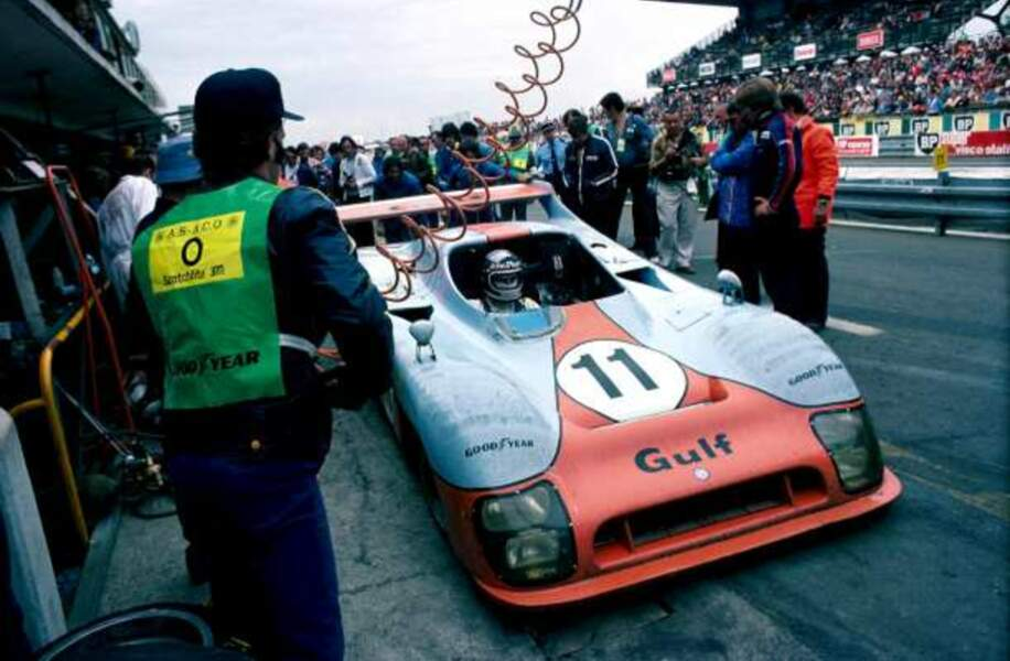 La voiture de Jacky Ickx en 1975