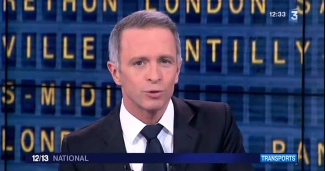 Samuel Etienne a présenté le 12/13 de France 3 et anime désormais Questions pour un champion.