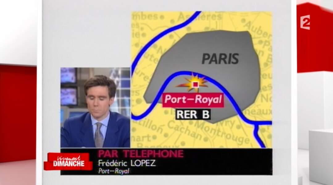 Frédéric Lopez a débuté comme journaliste-cadreur puis comme présentateur sur LCI.