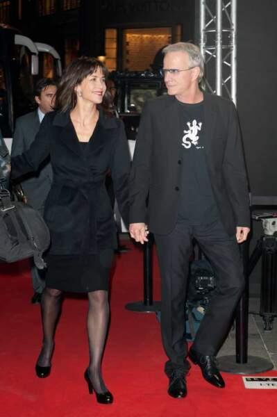 Sophie Marceau et Christophe Lambert sur le tapis rouge