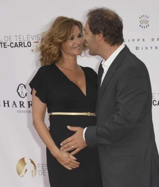 Ingrid Chauvin et son mari Thierry Peythieu épanouis