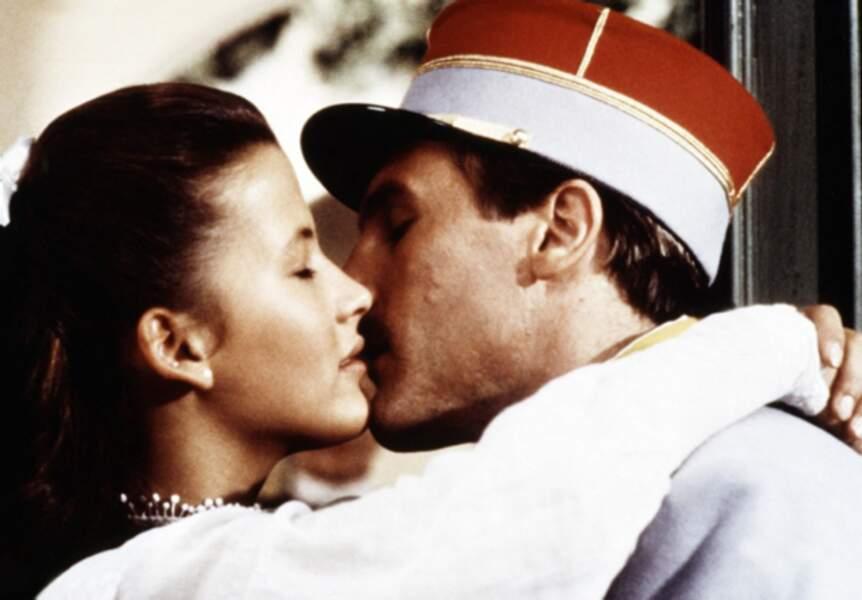 Elle a donné la réplique à Gérard Depardieu dans Fort Saganne (1984)