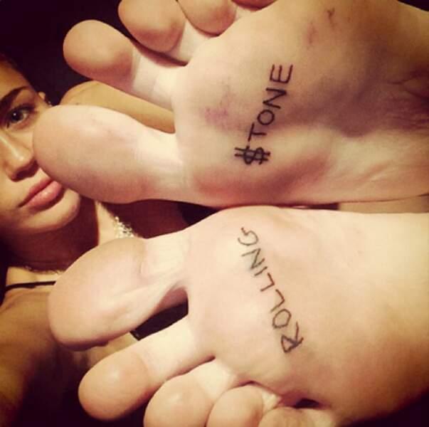 C'est une grande fille : elle se fait un tatouage si elle veut, et surtout où elle veut !