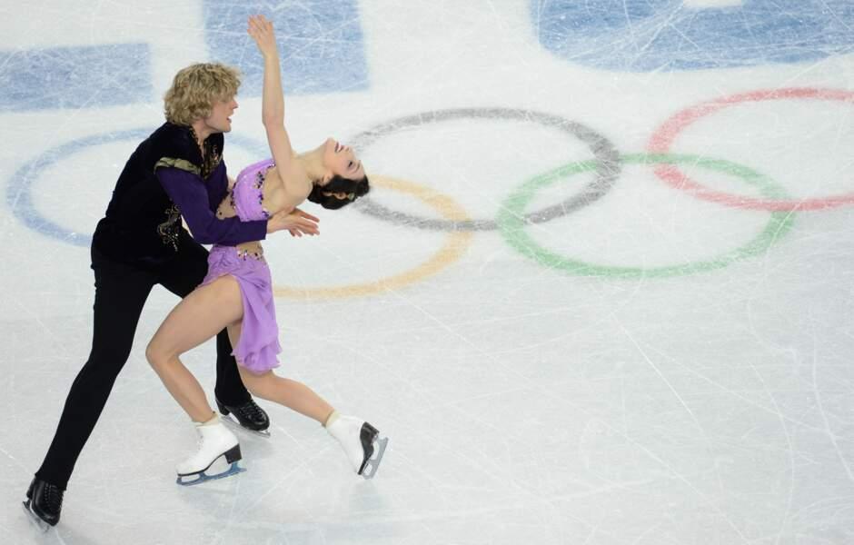 Les Américains Meryl Davis et Charlie White se parent d'or en danse sur glace