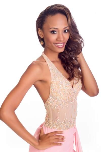 Roxanne Didier-Nicholas, Miss Sainte-Lucie 2014