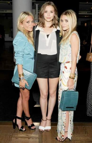 Mary-Kate, Elizabeth et Ashley Olsen