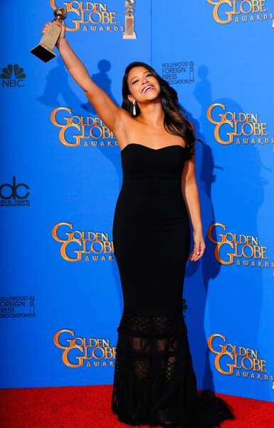 Gina Rodriguez, meilleure actrice de série comique avec Jane the Virgin