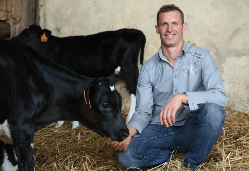 Franck, 38 ans, Picardie, éleveur de vaches laitières et céréalier